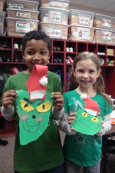grinch - Love the childrens' smiles!!!