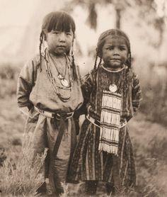 Creek Indian Youngsters - Alabama & Georgia