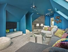 """Chillax"" - perfect room for watching TV or gaming."