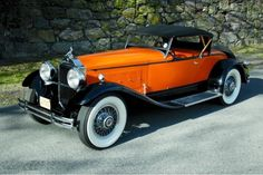 1930 Packard Speedster Roadster stuns with its good looks and slays with its 100 MPH performance.....