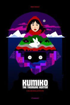 KUMIKO THE TREASURE HUNTER: superbe affiche pour le film avec Rinko Kikuchi