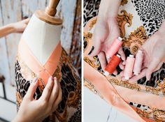 8 DIY Projects That'll Show Mother You're Doing Just Fine, Thank You: Silk Scarf Caftan