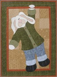 Hanging Bunny Pattern from The Wooden Bear at KayeWood.com. Perfect for your spring decorating, this charming bunny works equally well in this wallhaning or on a sweatshirt. Lots of possibilities! http://www.kayewood.com/item/Hanging_Bunny_Pattern/1610 $8.00