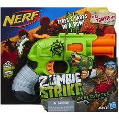 Nerf Zombie Strike Crossfire Bow Blaster - OPEN BOX