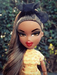 Black Bratz Doll, Brat Doll, Bratz Girls, Pose, Poppy Parker, Doll Makeup, Monster High Repaint, Cartoon Memes, Doll Repaint