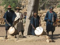 Dogon Drummers for Ceremony