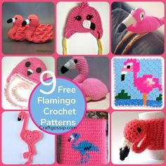 Flamingos are the Unicorn of 2017 and they are everywhere. I am sure the Pink Flamingo is going to stay around a little longer than this too. Here is a round-up of the best FREE crochet flamingo pa… Modern Crochet Patterns, Crochet Toys Patterns, Crochet Designs, Crochet Crafts, Crochet Projects, Crochet Ideas, Afghan Patterns, Macrame Patterns, Amigurumi Patterns