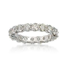 Diamond Eternity Band/ My dream band. I would love to have this to replace my rings that were stolen in Jamaica.