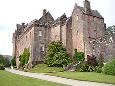 Brodick Castle is a castle situated outside the port of Brodick on the Isle of Arran, an island in the Firth of Clyde, Scotland. It was previously a seat of the Dukes of Hamilton, but is now owned by the National Trust for Scotland.