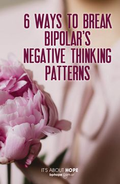 Since those living with bipolar spend more time depressed than elated, having the skills to manage the negative thought pattern is essential. Psychologist Elizabeth Saenger, PhD, offers these six helpful techniques Bipolar Depression Disorder, Living With Bipolar Disorder, How To Cure Depression, Dealing With Depression, Depression Symptoms, Managing Depression, Anxiety Disorder, Health
