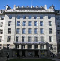 Otto Wagner, Postsparkasse, Vienna