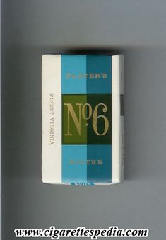 Players No.6 - i smoked these when I was 14 (I know - scary- different times)