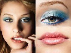 Makeup Tricks for Green Eyes #BeautyRoutine30S Blue Eyeshadow, Eyeshadow Makeup, Makeup Brushes, Maya Mia, Makeup Tricks, Makeup Ideas, Makeup Inspiration, Eye Tricks, Fun Makeup
