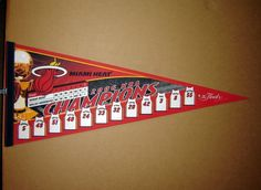 Academy of Scoring Basketball - 2006 Miami Heat NBA Champions SCORE Basketball Pennant #pennant TSA Is a Complete Ball Handling, Shooting, And Finishing System!  Here's What's Included...