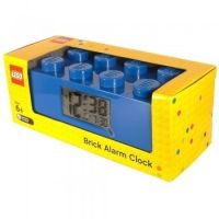 LEGO Digitale Wekker BLAUW | LEGOshop online - BRICKshop Holland (Gorinchem)