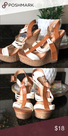 💕 Super Cute Wedges! 💕 NWOT Never worn in Excellent condition wedges. Shoes Wedges