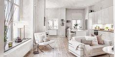 Casa en blanco