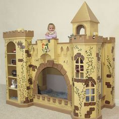 King Toliver Castle Bunk Bed