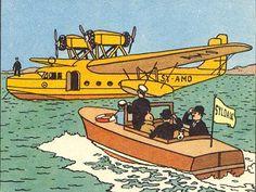El cetro de Ottokar - Hidroavión Lioré et Olivier LeO H 242-1 y Canoa automóvil