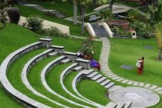 Open air theatre - Picture of Hill Country Kodaikanal - Tripadvisor Amphitheater Architecture, Theatre Architecture, Architecture Plan, Landscape Architecture, Landscape Plans, Urban Landscape, Landscape Design, Outdoor Stage, Outdoor Theater