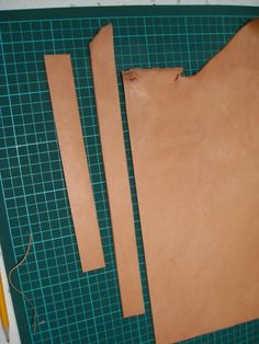 Ped's & Ro Leather Blog: Tutorial: Building Watch Strap - Part 1