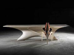 Enignum Sculptural Furniture by Joseph Walsh Studio. - Design Is This Studio Furniture, Living Furniture, Table Furniture, Furniture Design, Wooden Furniture, Furniture Legs, Steel Furniture, Painting Furniture, Chair Design