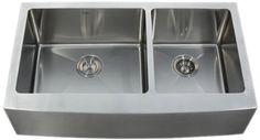 Kraus 36 inch Farmhouse Apron 60/40 Double Bowl 16 gauge Stainless Steel Kitchen Sink Kraus http://www.amazon.com/dp/B0032BWTR6/ref=cm_sw_r_pi_dp_iOHPtb0YPTQGJTDG