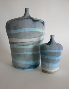 Experiments with slip and glaze www.kirstibrownceramics.co.uk