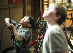 Kids summer camp in Oakland. Rock climbing is the perfect summer camp activity for kids!