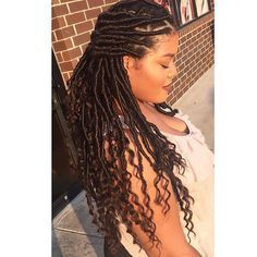 So in love with goddess locs follow my salon page @salonrache #salonrache…
