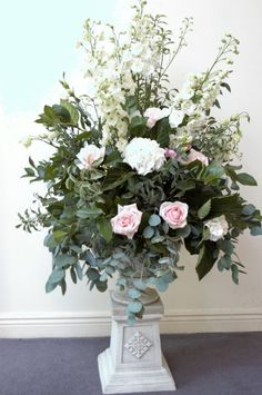 Gregg & Fiona's Rathsallagh House Wedding Function Room, Greggs, Wedding Venues, Floral Wreath, Wreaths, Elegant, Plants, House, Wedding Reception Venues