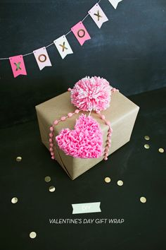 Valentine's Day Gift Wrap | like-the-cheese.com