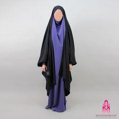 News: Jilbab Gilet Makkah Abaya Style, Modest Wear, Modest Outfits, Abaya Fashion, Modest Fashion, Abaya Mode, Hijab Stile, Beautiful Little Girls, Color Combinations