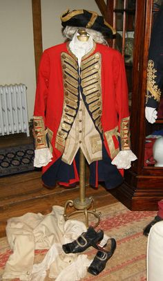 Georgian 3rd Regiment of Foot Guards (Scots guards) British Colonel's Uniform.is a Georgian 3rd Regiment of Foot Guards British Colonel's Uniform. The third foot guards are also more well known as the Scot's guards, but would not be renamed as such until 1881. This is a complete uniform belonging to a Colonel in the regiment of the Georgian era.