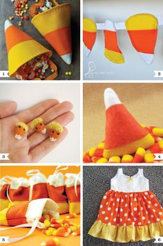 Candy Corn Crafts