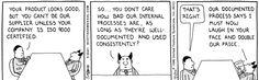 Dilbert - ISO 9000