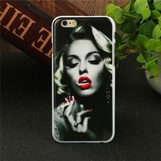 Stylish Marilyn Monroe Bubble Gum Protective Back Hard Cover Case For Apple iPhone 6 6S 4.7 inch 5 5S SE 4 4S-in Phone Bags & Cases from Phones & Telecommunications on Aliexpress.com | Alibaba Group