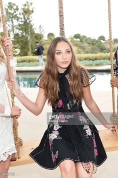 Maddie Ziegler attends Marc Jacobs Fragrances and Kaia Gerber Celebrate DAISY on May 9, 2017 in Beverly Hills, California.