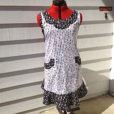 Retro vintage apron from The Glass Cactus. I use quilt material.