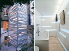 Architects use Perspex to create a unique feature