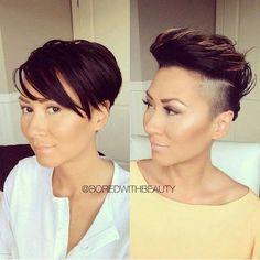 undercut+hairstyles+for+women