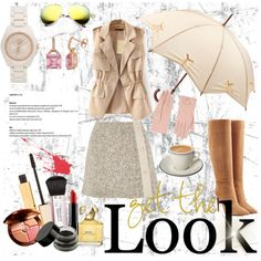 Love in camel by caritoantezana on Polyvore featuring polyvore, moda, style, See by Chloé, Ralph Lauren Collection, Coach, Accessorize, Fulton, Guerlain, Stila, NYX, Marc Jacobs and Viktor & Rolf