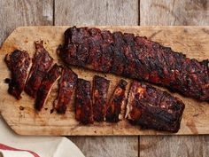 Get Smoked Baby Back Ribs Recipe from Food Network