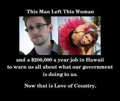 I support Edward Snowden!