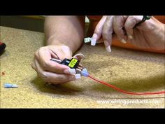 ▶ LED Toggle Switch for automotive use with Wiring Products - YouTube