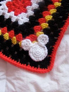Granny Rectangle Lovey....inspired by Mickey 6f19c2b74499