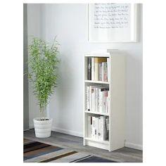 BILLY Bibliotecă, alb, 40x28x106 cm - IKEA