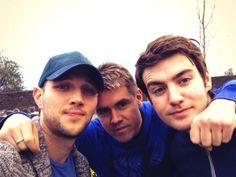 Colm,  Neil and Emmet