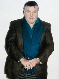 """Gentleman, you are making a big mistake,"" is what Sicilian mobster Salvatore Riina told police when he was apprehended in January 1993 for his dark deeds over more than 20 years as a fugitive and. Giovanni Falcone, Real Gangster, Mafia Gangster, Mafia Families, Life Of Crime, Al Capone, The Godfather, Crime, Poster"