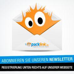 Entdecke Packlink! - Jetzt unseren wöchentlichen Newsletter abonnieren und Nachrichten sowie Wissenswertes zur Logsitikbranche und Packlink zu erhalten.